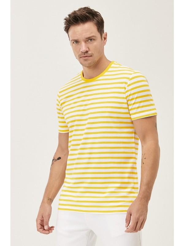 Altınyıldız Classics Slim Fit Bisiklet Yaka Koton T-Shirt