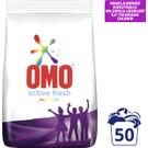 Omo Toz Çamaşır Deterjanı Active Fresh Renkliler 7,5 KG 50 Yıkama