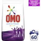 Omo Active Fresh Toz Çamaşır Deterjanı Renkliler İçin 9 KG 60 Yıkama