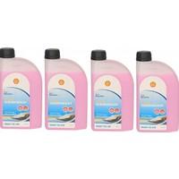Shell Yazlık Konsantre Cam Suyu 1 Lt 4 Adet