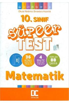 Doğru Cevap Yayınları 10.sınıf Matematik Süper Test Çek Kopar Doğru Cevap Yayınları