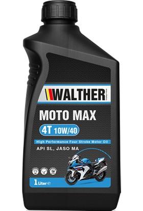 Walther Moto Max 4t 10W-40 1 Lt