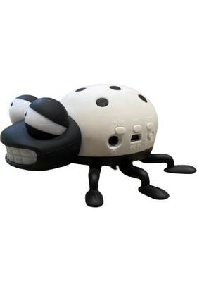 Bewell Bs-09 Uğur Böceği Multimedya Speaker Usb+Sd