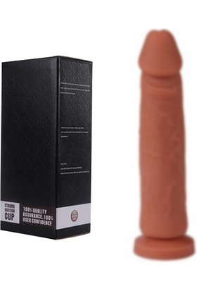 Xise Soft Like Süper Esnek Güçlü Vantuzlu Realistik Dildo Penis