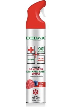Bebak Antibakteriyel Ortam Spreyi Red Fruits 300ml