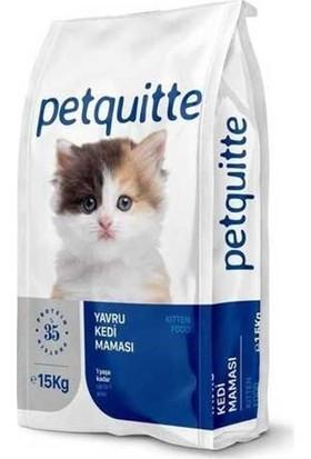 Petquitte Tavuk Etli Yavru Kedi Maması 15 kg