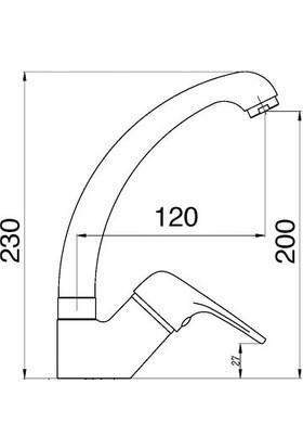Penta Yüksek Lavabo Bataryası Opus Serisi