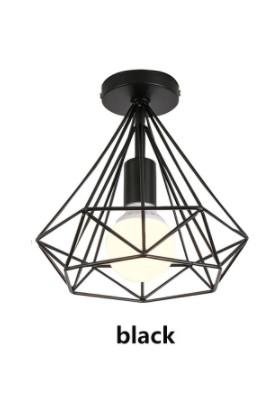 Luna Lighting Modern Piramit Plafonyer Tekli Avize