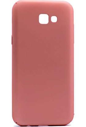 Canpay Samsung Galaxy A5 2017 Kılıf Rabbit Canpay Serisi New Soft Case Rose Gold
