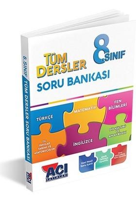 Açı Yayınları 8. Sınıf LGS Tüm Dersler Soru Bankası