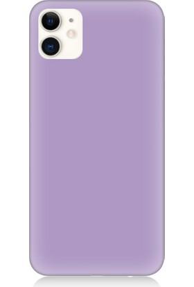 Teknomeg Apple iPhone 12 Uyumlu Içi Kadife Soft Lansman Silikon Kılıf