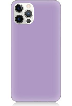 Teknomeg Apple iPhone 12 Pro Max Uyumlu Içi Kadife Lansman Silikon Kılıf