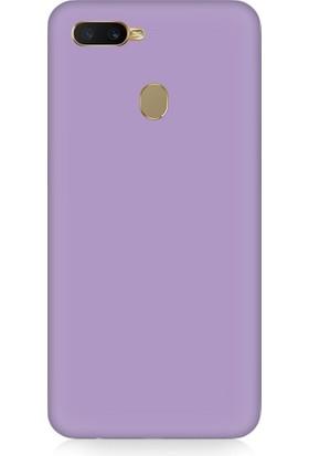Teknomeg Oppo A12 Uyumlu Içi Kadife Soft Lansman Silikon Kılıf