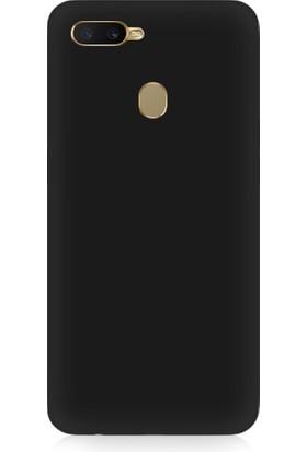 Teknomeg Oppo A5S Uyumlu Içi Kadife Soft Lansman Silikon Kılıf