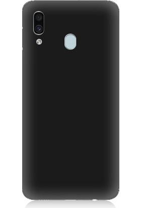 Teknomeg Samsung Galaxy A20 Uyumlu Içi Kadife Soft Lansman Silikon Kılıf