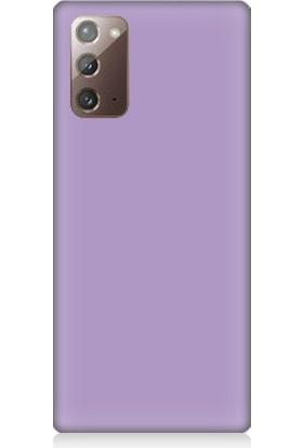 Teknomeg Samsung Galaxy Note 20 Uyumlu Içi Kadife Lansman Silikon Kılıf