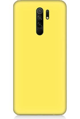 Teknomeg Xiaomi Redmi 9 Uyumlu Içi Kadife Soft Lansman Silikon Kılıf