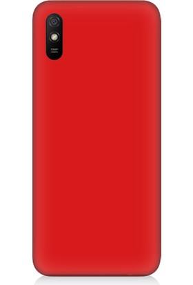 Teknomeg Xiaomi Redmi 9A Uyumlu Içi Kadife Soft Lansman Silikon Kılıf
