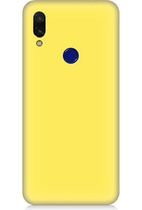 Teknomeg Xiaomi Redmi Note 7 Uyumlu Içi Kadife Soft Lansman Silikon Kılıf
