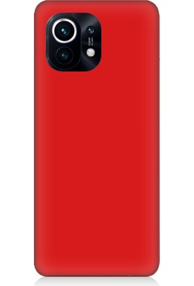 Teknomeg Xiaomi Mi 11 Uyumlu Içi Kadife Soft Lansman Silikon Kılıf