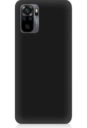 Teknomeg Xiaomi Redmi Note 10 Uyumlu Içi Kadife Soft Lansman Silikon Kılıf