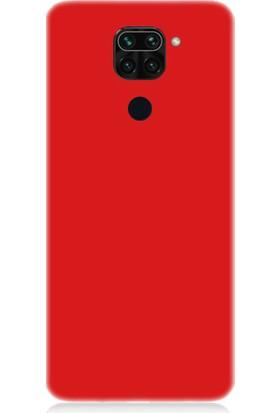 Teknomeg Xiaomi Redmi Note 9 Uyumlu Içi Kadife Soft Lansman Silikon Kılıf