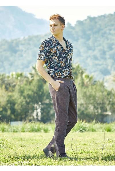 Clandestino Normal Bel Tapered Fit Pantolon Kahverengi