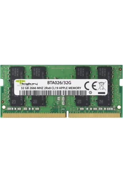 Bigboy 32GB 2666MHZ Apple Uyumlu Ddr4 BTA026/32G Notebook Bellek