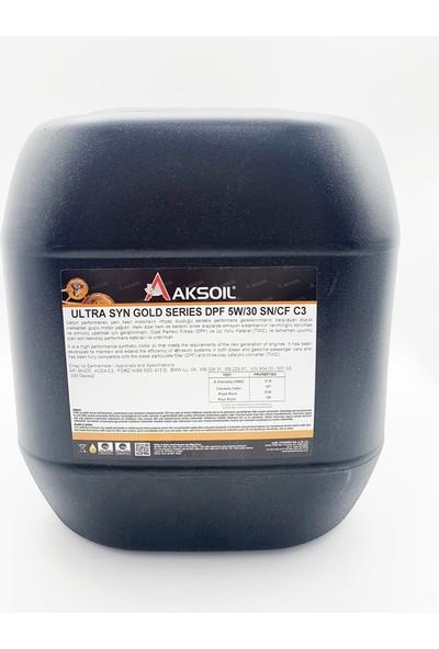 Aksoil 5W/30 Ultra Syn Gold Series 20 lt