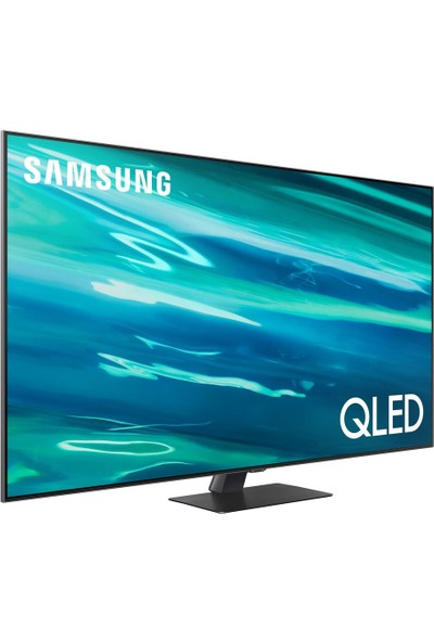 "Samsung 65Q80A 65"" 165 Ekran Uydu Alıcılı 4K Ultra HD Smart QLED TV"