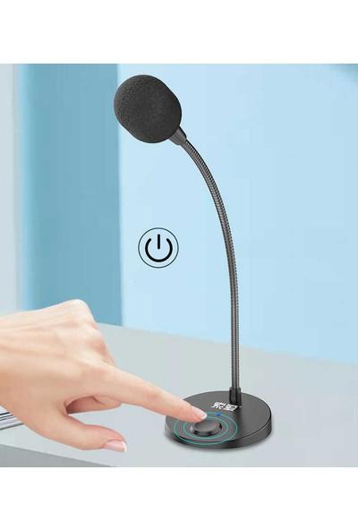 Soaiy Mikrofon Masaüstü USB Mikrofon Soaiy Mk2 Siyah