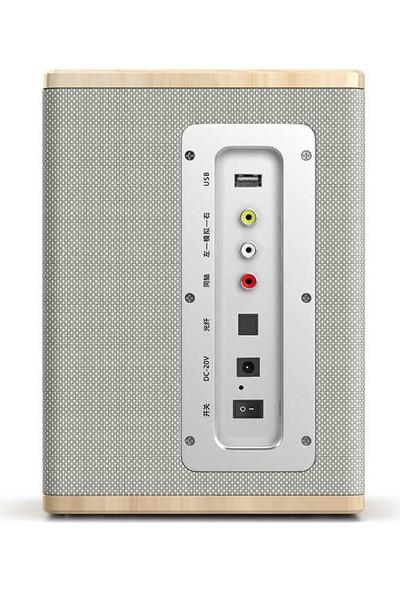 Mobaxaksesuar Bluetooth Speaker Hoparlör Ahşap Tasarım Soaiy SA-L10
