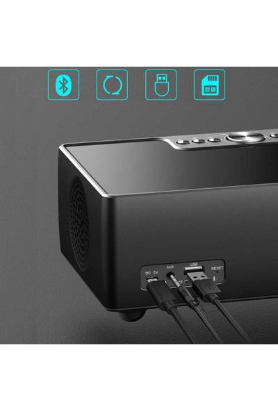 Mobaxaksesuar Bluetooth Speaker Hoparlör Tft Ekranlo Sd USB Aux Soaiy S99