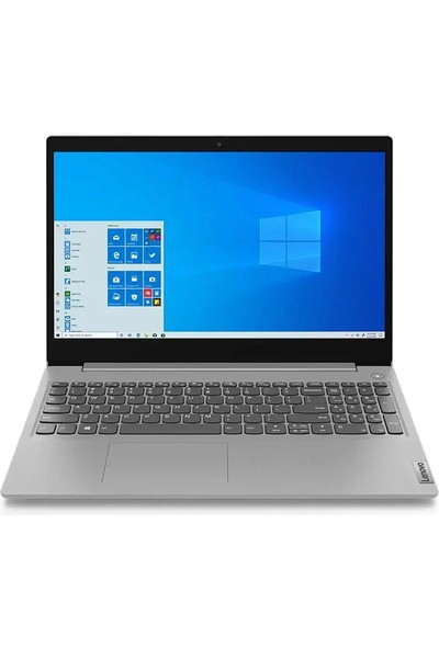 "Lenovo IdeaPad 3 Intel Core I5 1035G4 8GB 256GB SSD Windows 10 Home 15.6"" FHD Taşınabilir Bilgisayar 81WE008FTX"