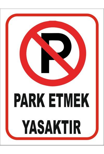 Reklambu Park Etmek Yasaktır Garaj x 3