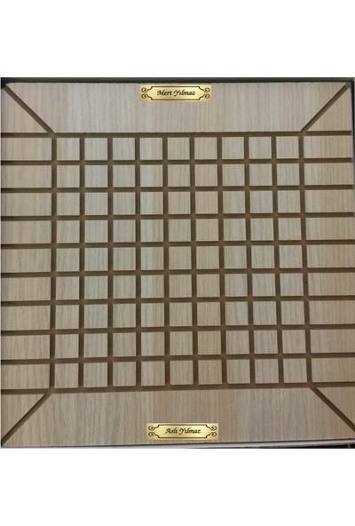 Baskı Adresi Labirent Koridor Oyunu Altın Metalik Isimli Iki Isimli