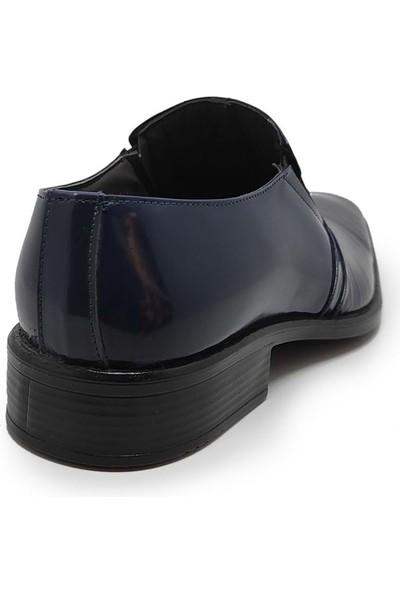 Budak 402 Rugan Bağsız Erkek Ayakkabı - Lacivert - 40