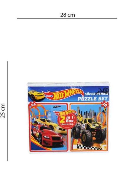 Hotwheels 2in 70 Parça Puzzle