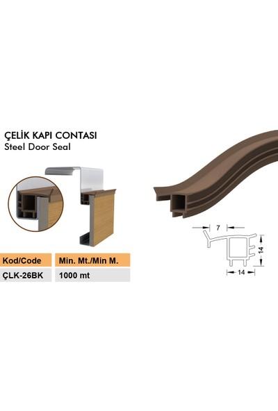 Contacall Çelik Kapı Contası Fitili 6 Metre Beyaz Çelik Kapı Kasa Kanat Fitili Contası Ürün KODU-ÇLK-26B