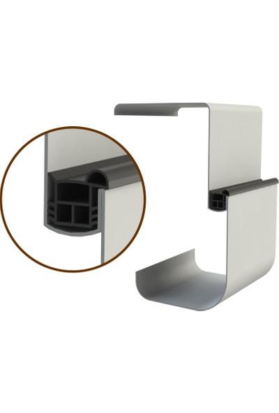 Contacall Çelik Kapı Contası Çelik Kapı Fitili Siyah 6 Metre Çelik Kapı Fitili Ürün Kodu-Çlkp-18
