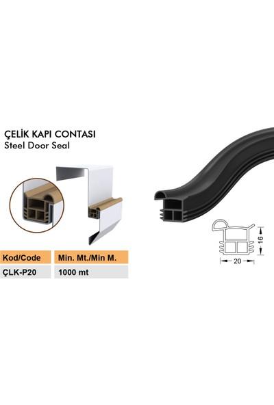 Contacall Çelik Kapı Contası Çelik Kapı Fitili Siyah 6 Metre Çelik Kapı Fitili Ürün Kodu-Çlkp-20