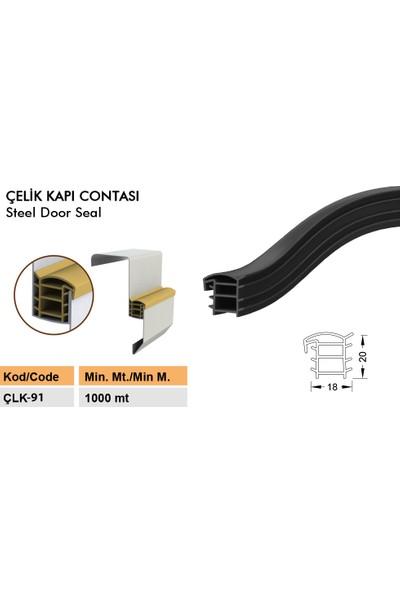 Contacall Çelik Kapı Fitili Siyah 6 Metre Çelik Kapı Kasa Fitili Ürün Kodu-Çlk-91