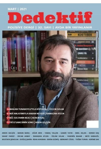 Dedektif Polisiye Dergi Sayı : 32 Mart