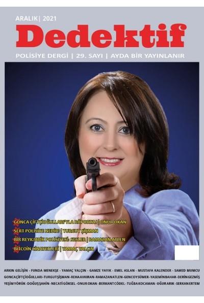 Dedektif Polisiye Dergi Sayı : 29 Aralık