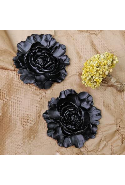 Selim Lotus Dekoratif Çiçek Siyah