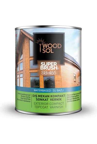 Woodsol Superbrush Sonkat Ahşap Verniği Ipek Mat