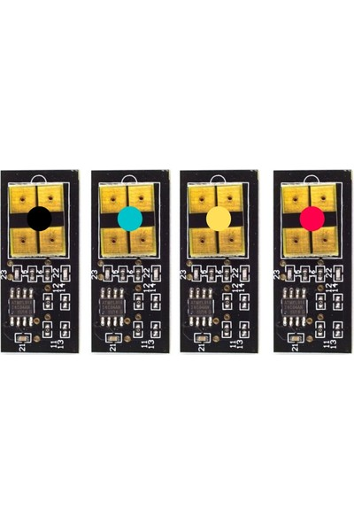 History CLP-600 Muadil Chip Cmyk Set Clp 650