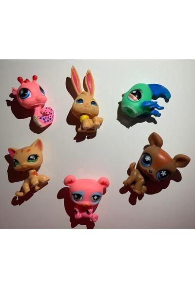 Kardelen Pet Shop Neşeli Minişler 6'lı Miniş Ailesi Oyuncak Pet Star