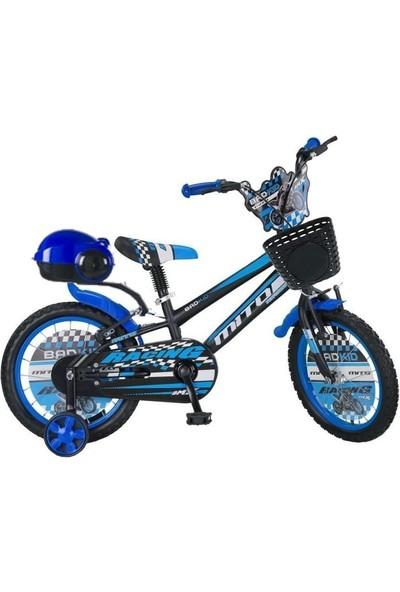 Ümit Bisiklet Ümit Badkid 16 Jant Çocuk Bisikleti 3-4-5-6-7-8 Yaş Çocuk Bisikleti Mavi