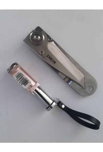 Crkt Komple Çelik Polat Çakı 55000 18 cm Jobon Çakmaklı